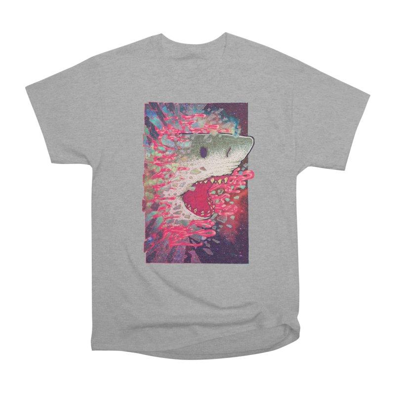 SHARK FROM OUTER SPACE Women's Classic Unisex T-Shirt by villainmazk's Artist Shop