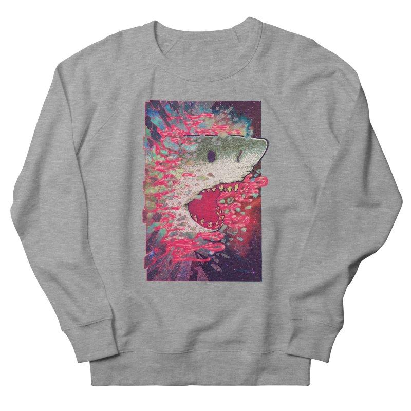 SHARK FROM OUTER SPACE Men's Sweatshirt by villainmazk's Artist Shop