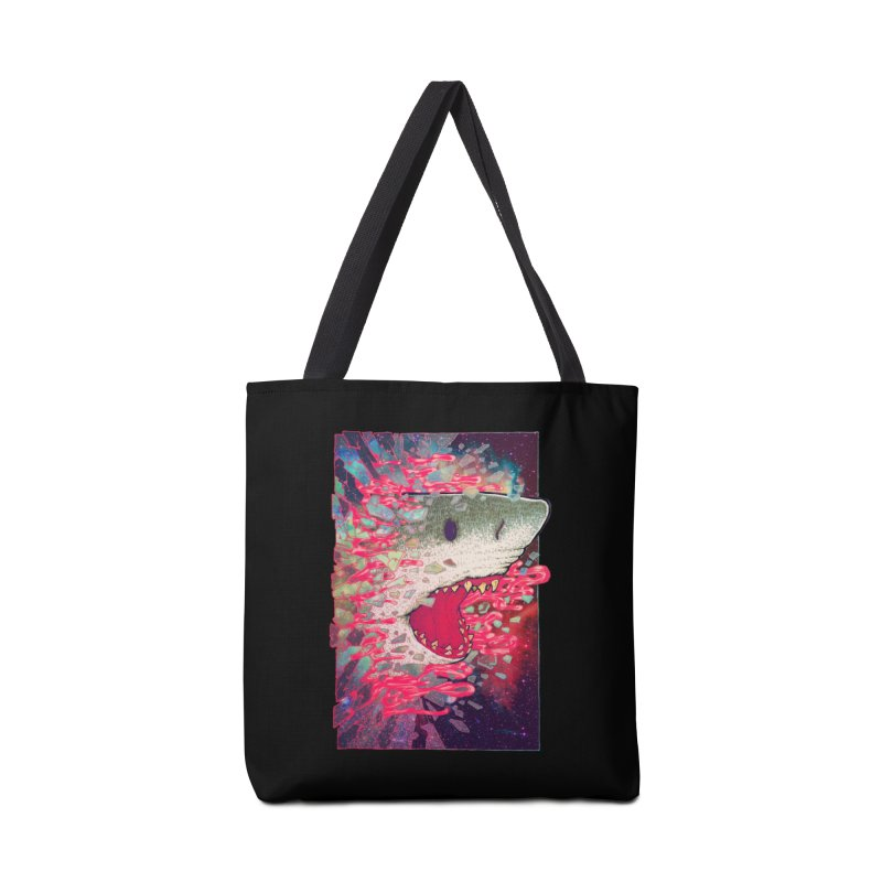 SHARK FROM OUTER SPACE Accessories Bag by villainmazk's Artist Shop
