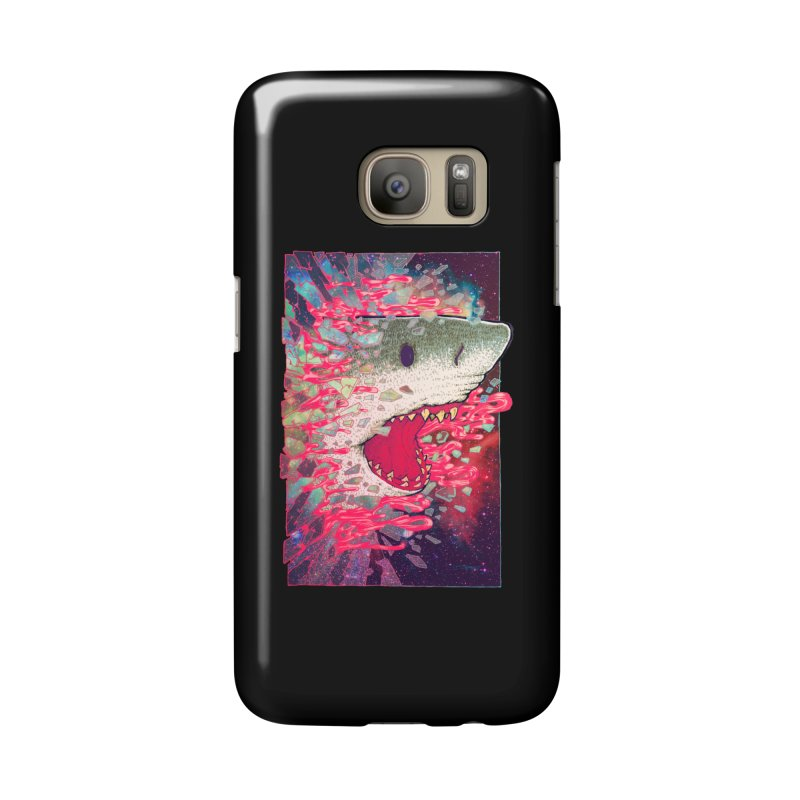SHARK FROM OUTER SPACE Accessories Phone Case by villainmazk's Artist Shop