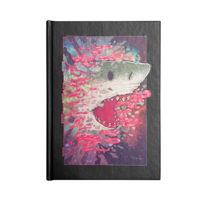 SHARK FROM OUTER SPACE Accessories Notebook by villainmazk's Artist Shop