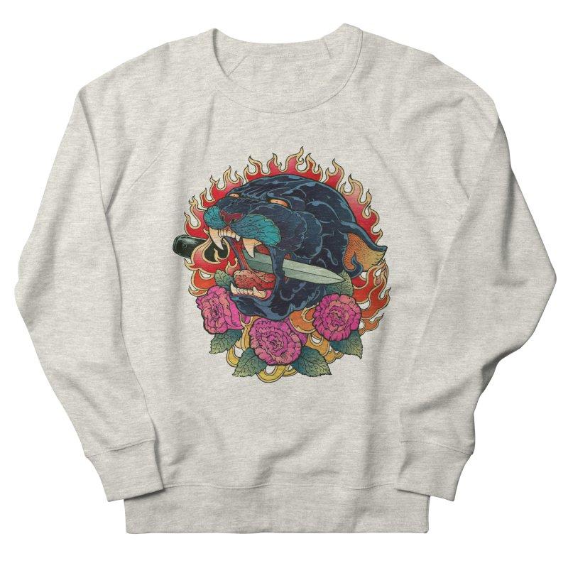 Burning Roses  Women's Sweatshirt by villainmazk's Artist Shop