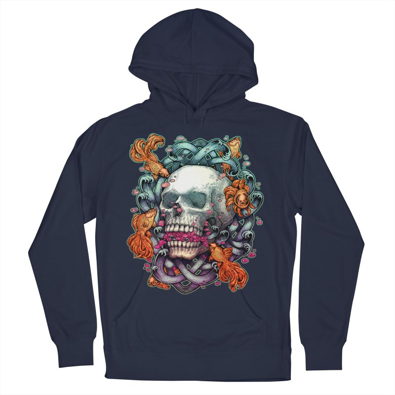 Short Term Dead Memory Women's French Terry Pullover Hoody by villainmazk's Artist Shop