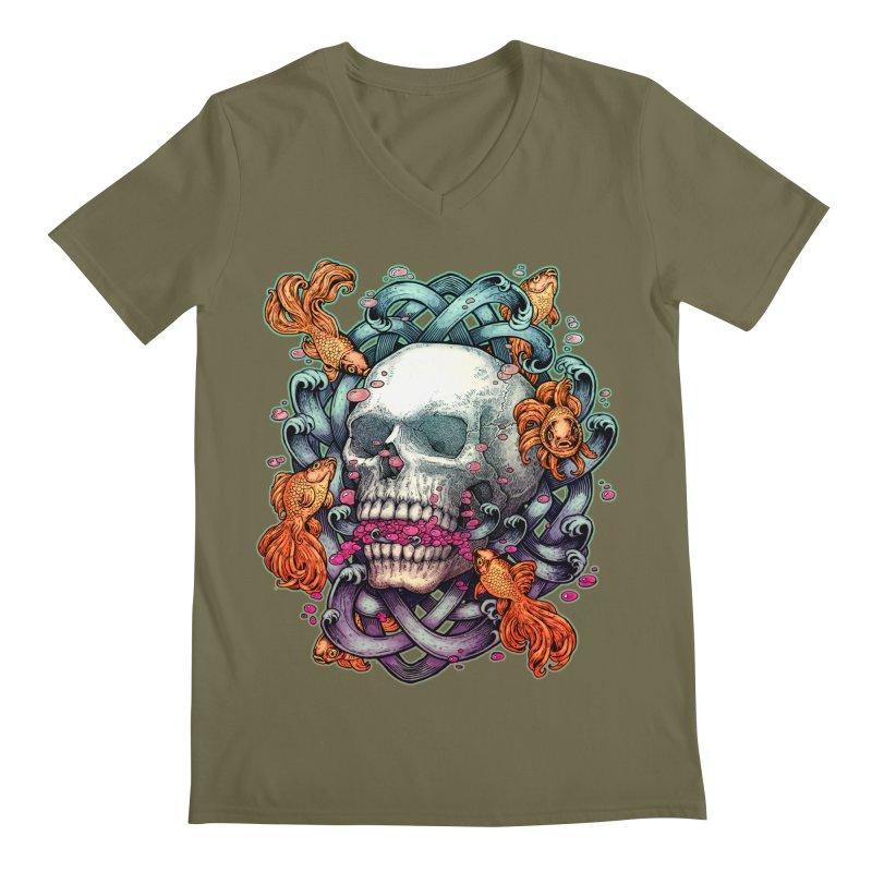 Short Term Dead Memory Men's V-Neck by villainmazk's Artist Shop