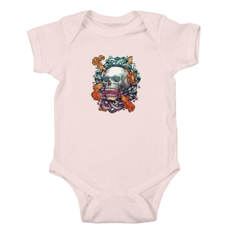 Short Term Dead Memory Kids Baby Bodysuit by villainmazk's Artist Shop
