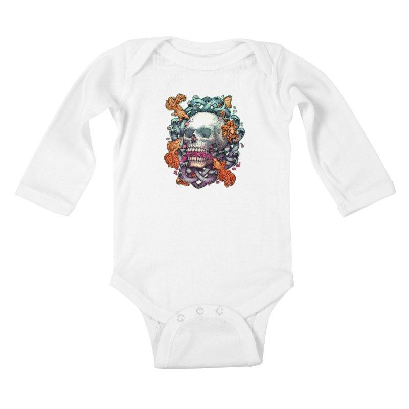 Short Term Dead Memory Kids Baby Longsleeve Bodysuit by villainmazk's Artist Shop