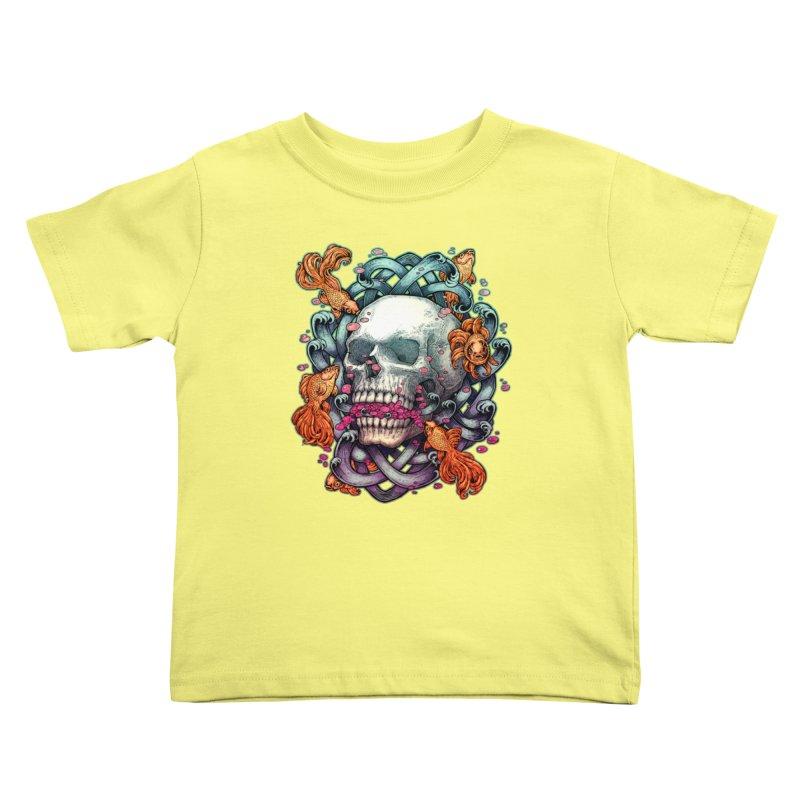 Short Term Dead Memory Kids Toddler T-Shirt by villainmazk's Artist Shop