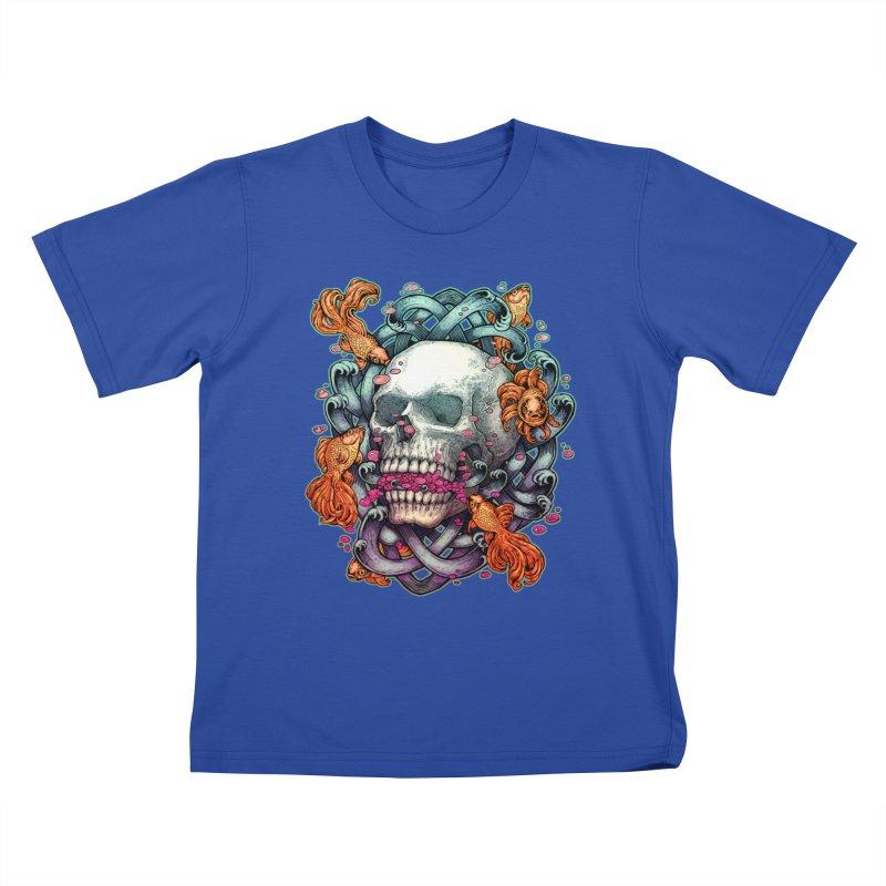 Short Term Dead Memory Kids T-Shirt by villainmazk's Artist Shop