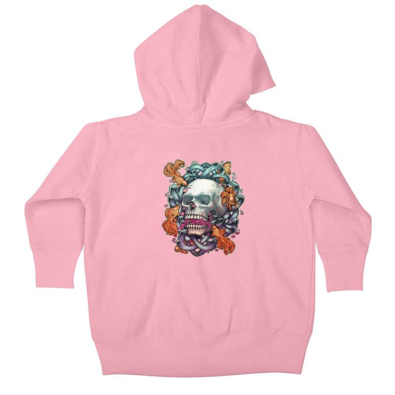 Short Term Dead Memory Kids Baby Zip-Up Hoody by villainmazk's Artist Shop