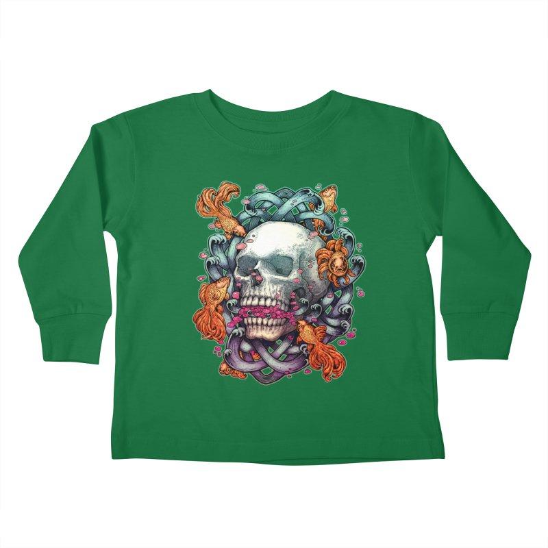 Short Term Dead Memory Kids Toddler Longsleeve T-Shirt by villainmazk's Artist Shop