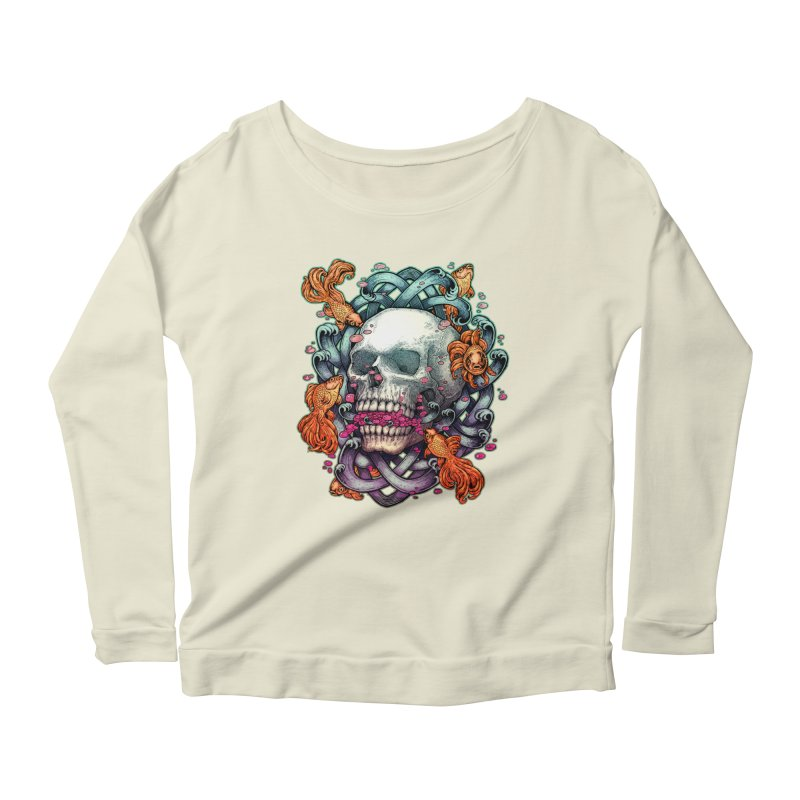 Short Term Dead Memory Women's Longsleeve Scoopneck  by villainmazk's Artist Shop
