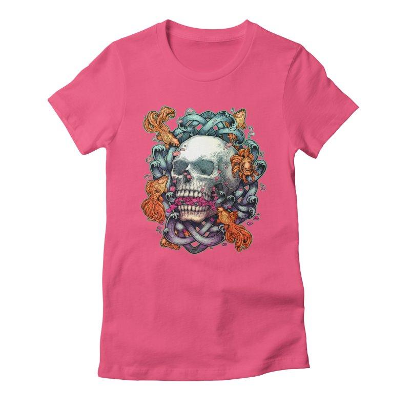 Short Term Dead Memory Women's Fitted T-Shirt by villainmazk's Artist Shop