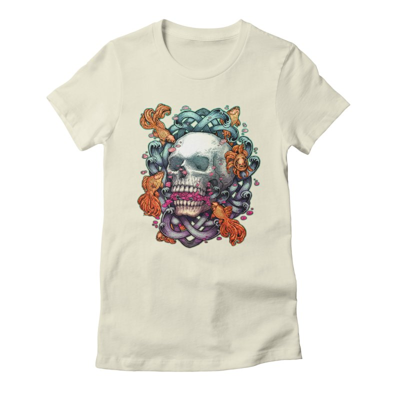 Short Term Dead Memory Women's Fitted T-Shirt by villainmazk's Artist Shop