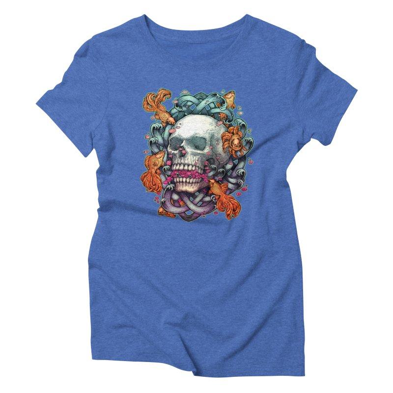 Short Term Dead Memory Women's Triblend T-Shirt by villainmazk's Artist Shop