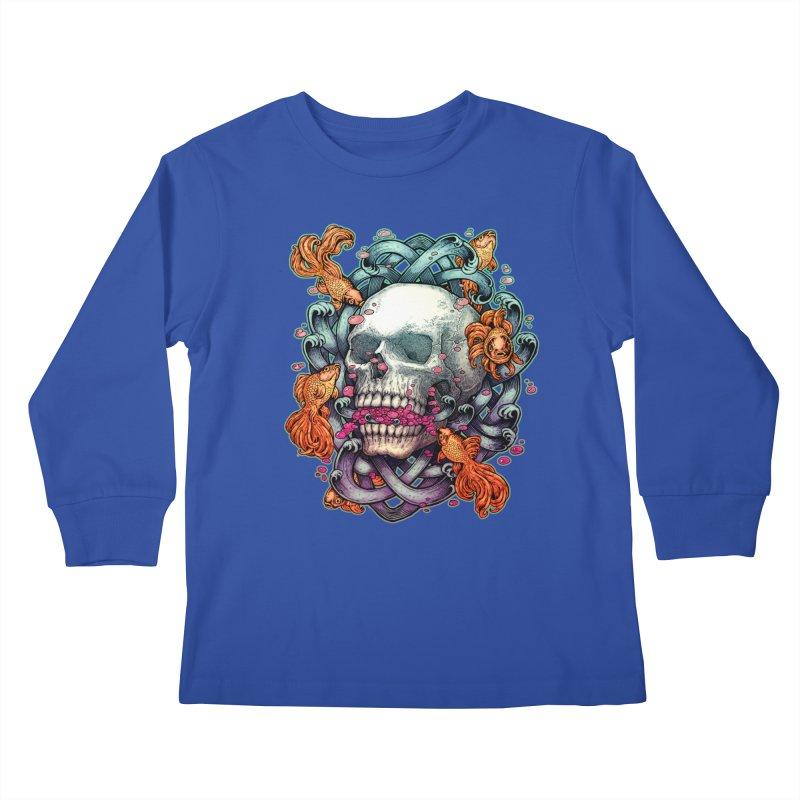 Short Term Dead Memory Kids Longsleeve T-Shirt by villainmazk's Artist Shop
