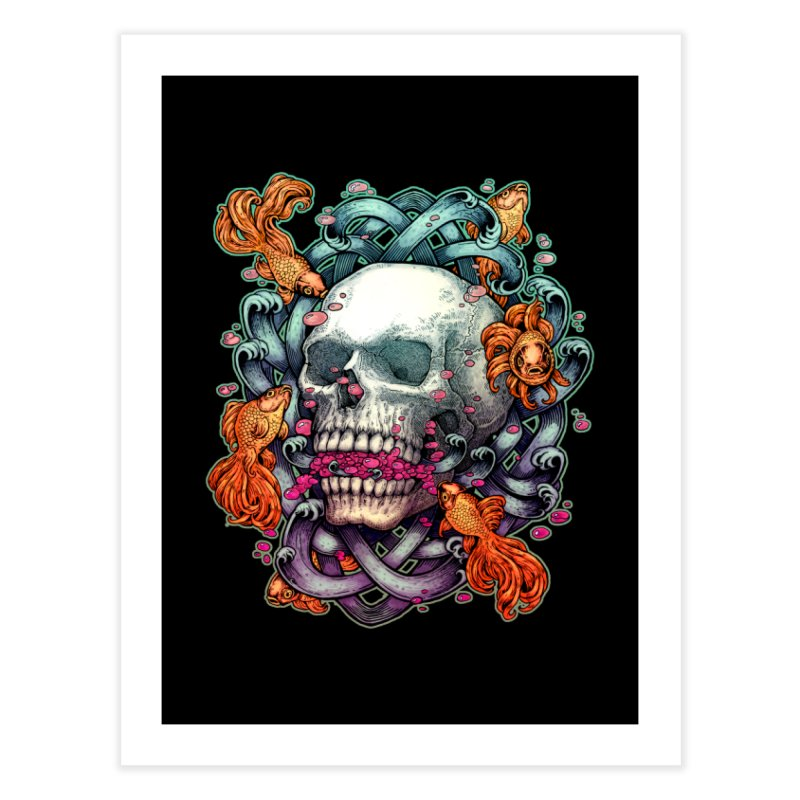 Short Term Dead Memory Home Fine Art Print by villainmazk's Artist Shop