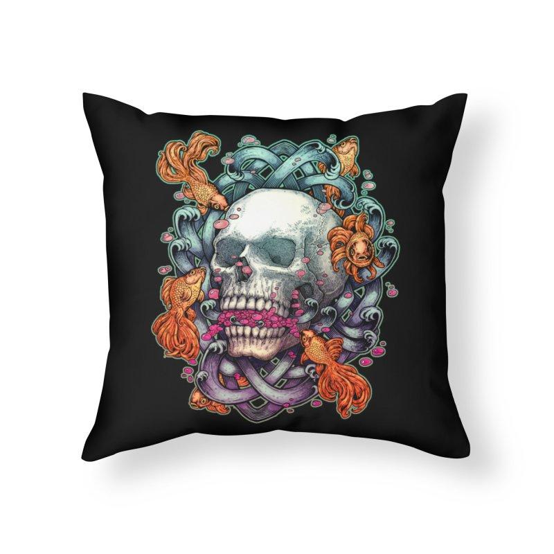 Short Term Dead Memory Home Throw Pillow by villainmazk's Artist Shop