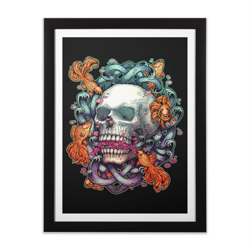 Short Term Dead Memory Home Framed Fine Art Print by villainmazk's Artist Shop
