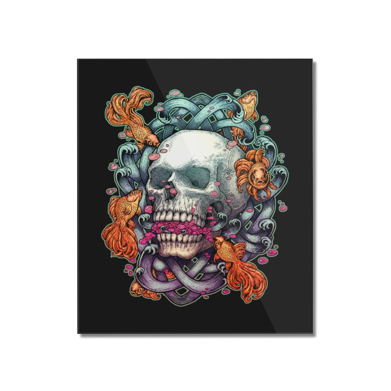 Short Term Dead Memory Home Mounted Acrylic Print by villainmazk's Artist Shop