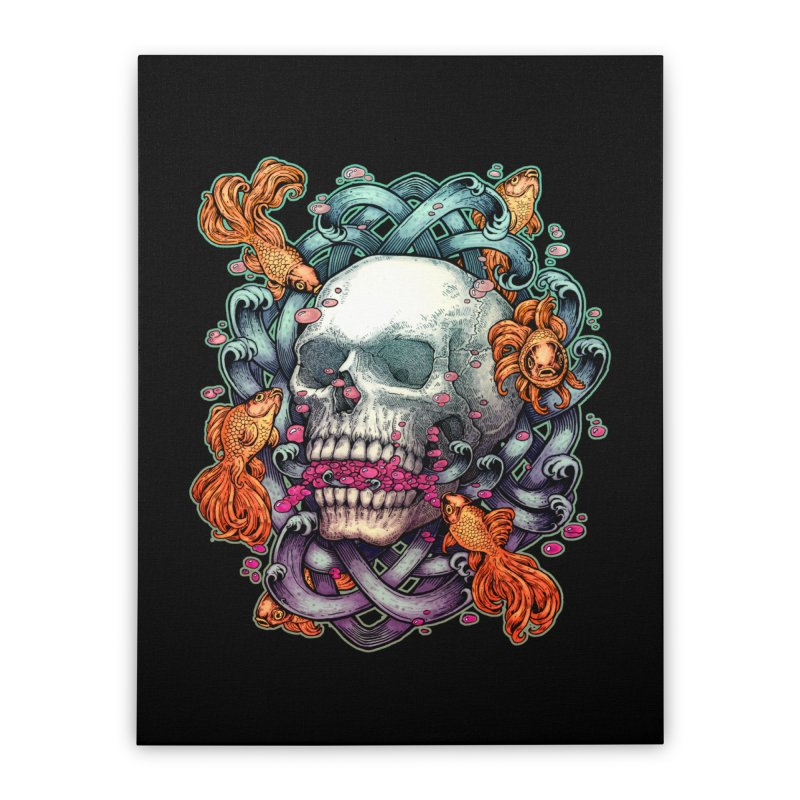 Short Term Dead Memory Home Stretched Canvas by villainmazk's Artist Shop