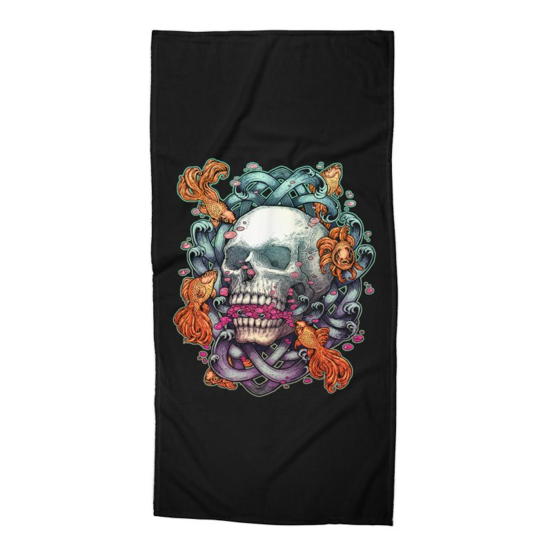 Short Term Dead Memory Accessories Beach Towel by villainmazk's Artist Shop