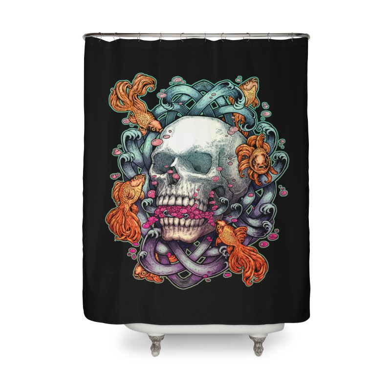 Short Term Dead Memory Home Shower Curtain by villainmazk's Artist Shop