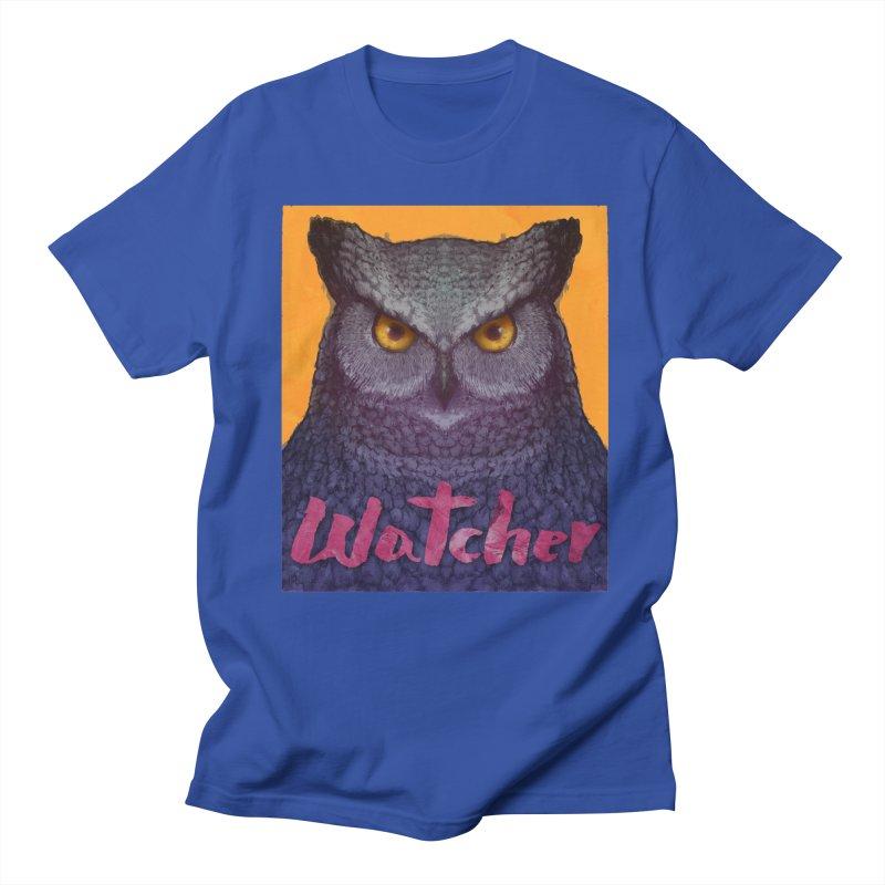 Owl Watcher Women's Unisex T-Shirt by villainmazk's Artist Shop