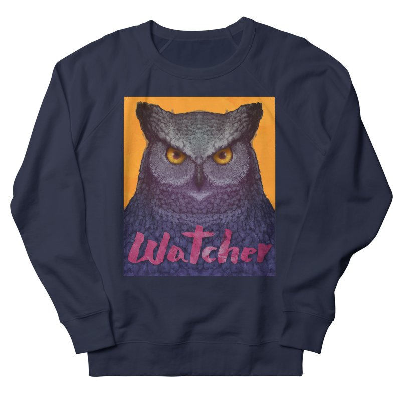 Owl Watcher Women's Sweatshirt by villainmazk's Artist Shop