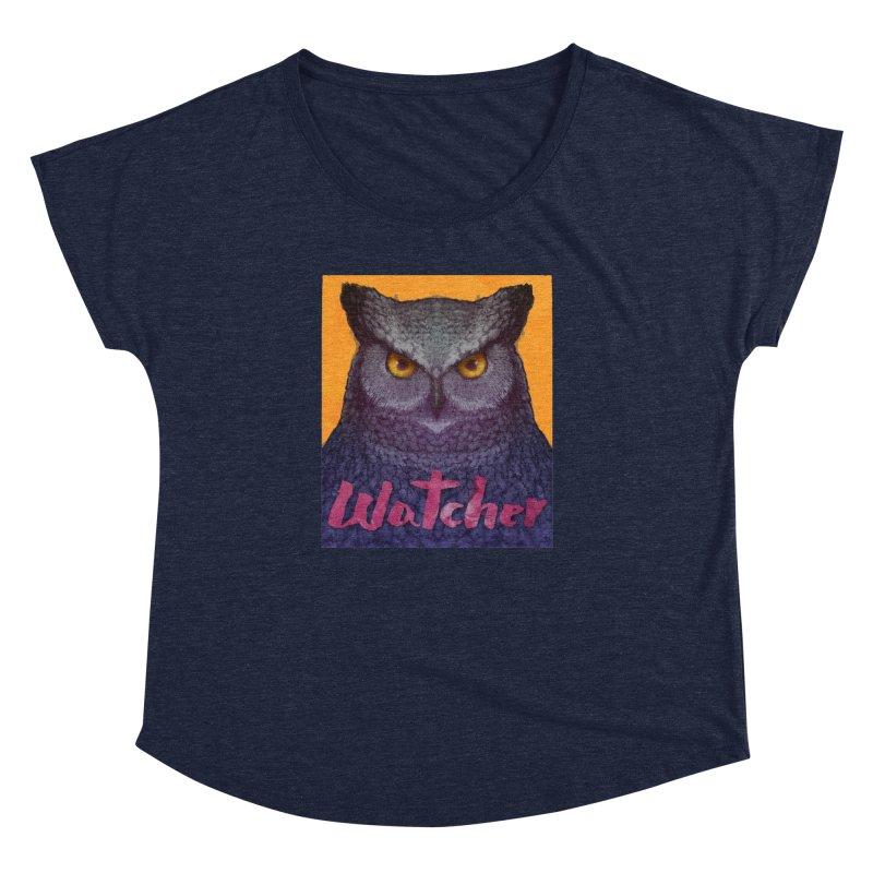 Owl Watcher Women's Dolman by villainmazk's Artist Shop