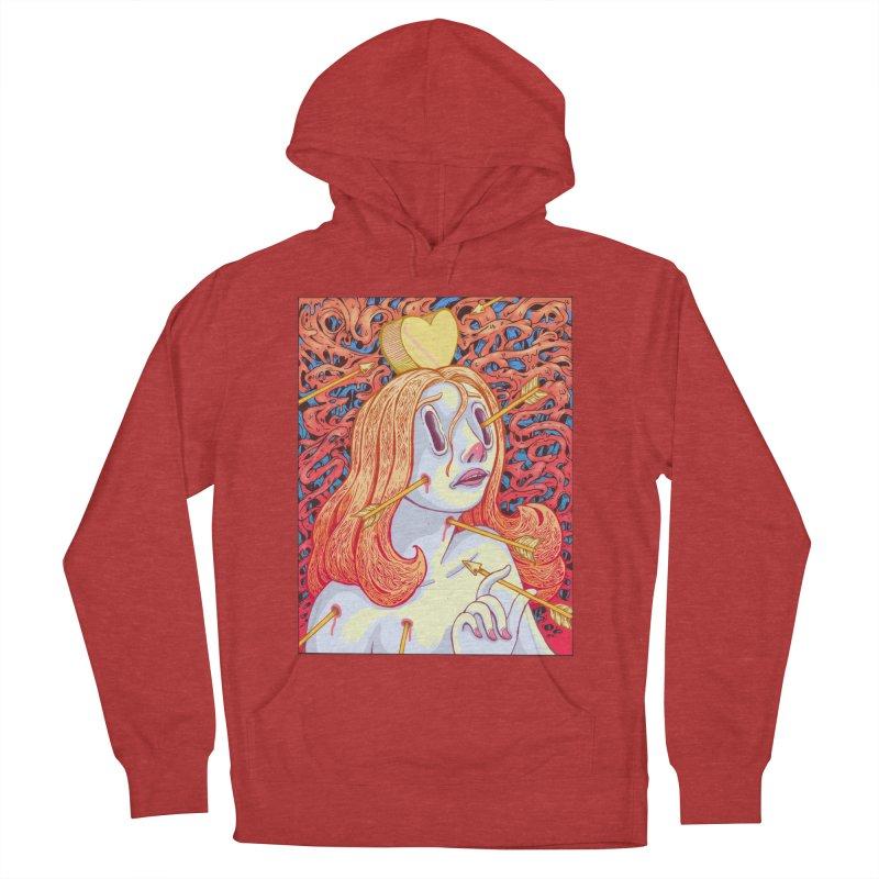 Heart Attack Women's Pullover Hoody by villainmazk's Artist Shop