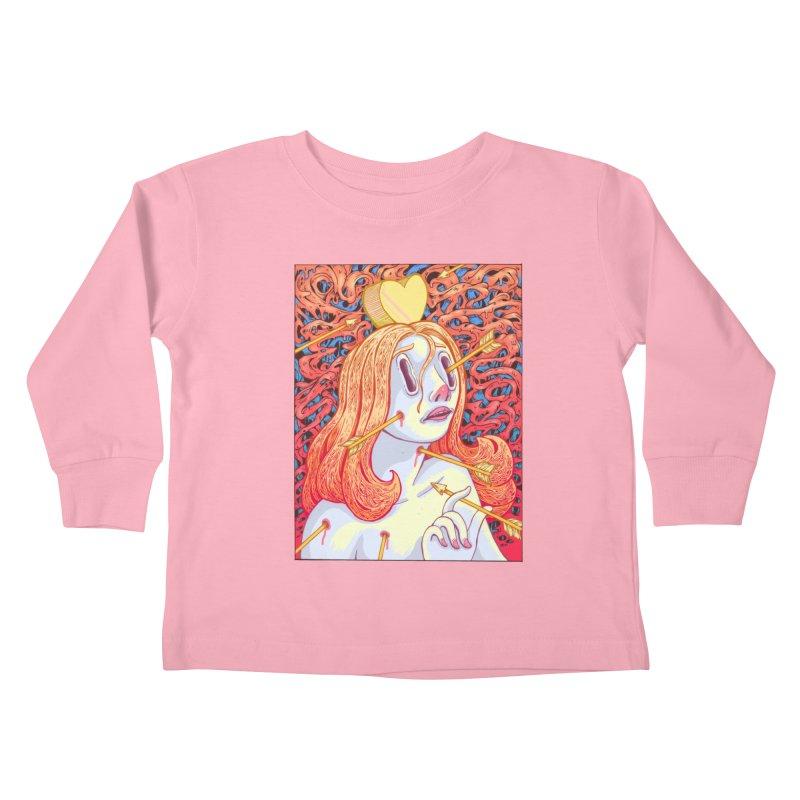 Heart Attack Kids Toddler Longsleeve T-Shirt by villainmazk's Artist Shop