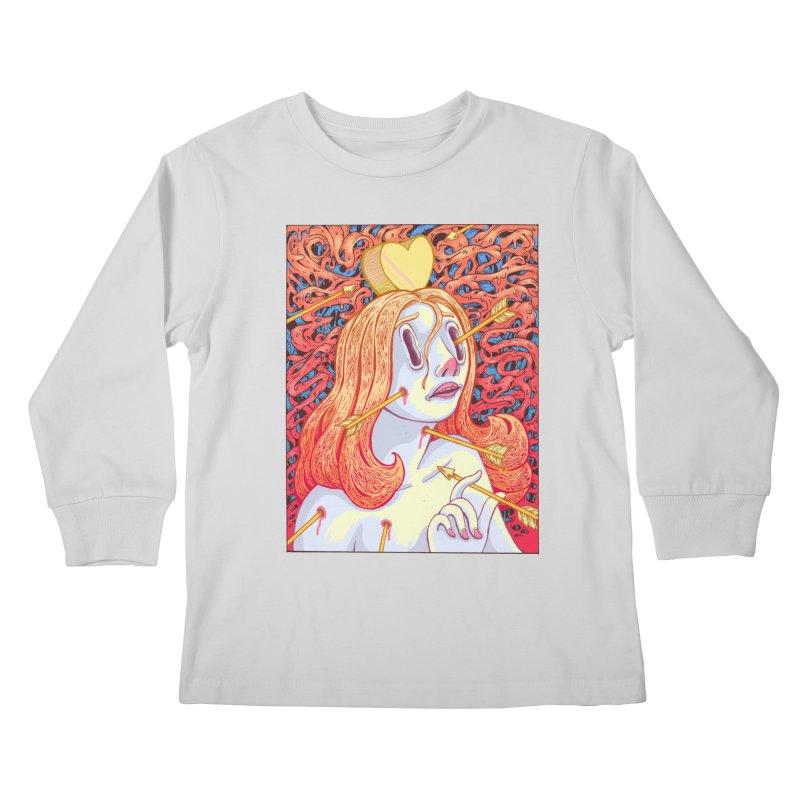 Heart Attack Kids Longsleeve T-Shirt by villainmazk's Artist Shop