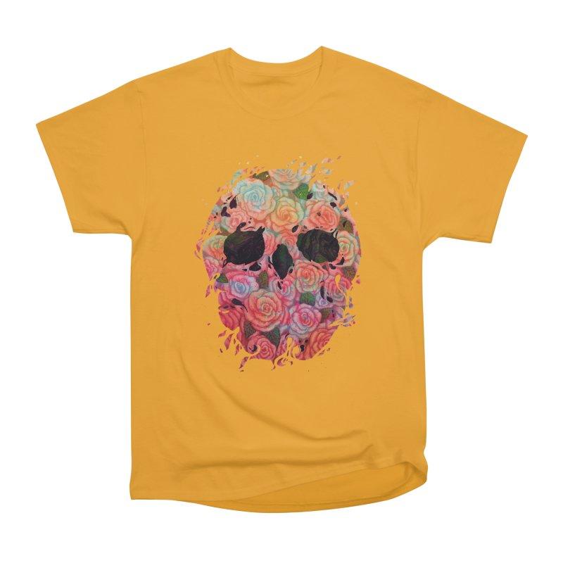 Skull Roses Men's Classic T-Shirt by villainmazk's Artist Shop