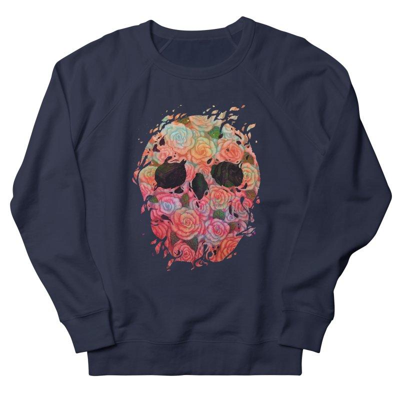 Skull Roses Women's Sweatshirt by villainmazk's Artist Shop