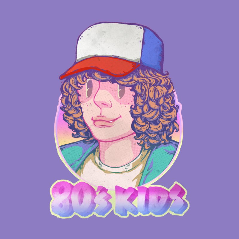 80's KIDS Kids T-Shirt by villainmazk's Artist Shop