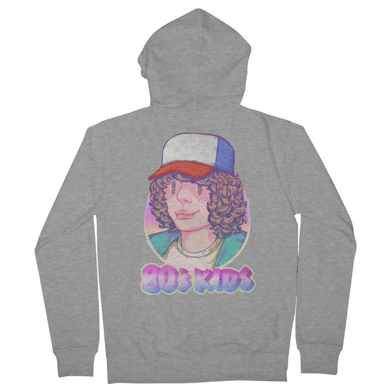 80's KIDS Women's Zip-Up Hoody by villainmazk's Artist Shop