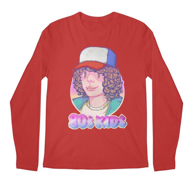 80's KIDS Men's Longsleeve T-Shirt by villainmazk's Artist Shop