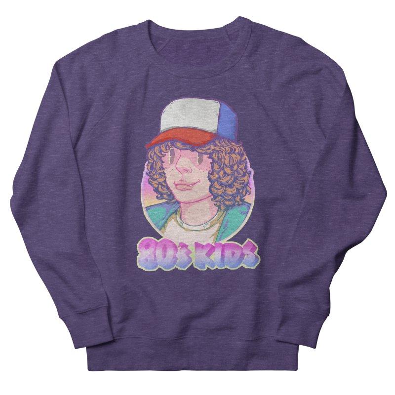 80's KIDS in Men's Sweatshirt Heather Purple by villainmazk's Artist Shop