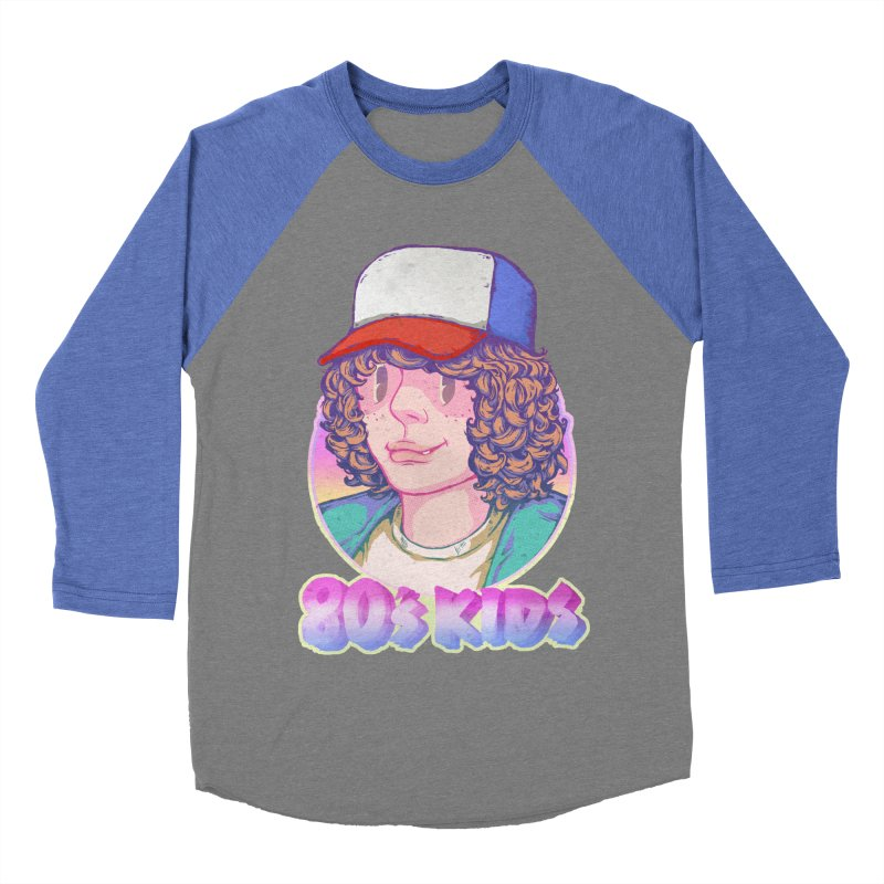 80's KIDS Women's Baseball Triblend T-Shirt by villainmazk's Artist Shop