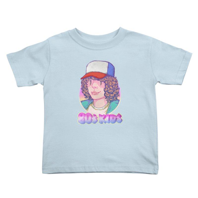 80's KIDS Kids Toddler T-Shirt by villainmazk's Artist Shop