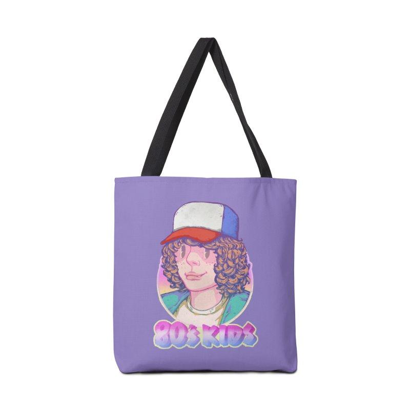 80's KIDS Accessories Tote Bag Bag by villainmazk's Artist Shop