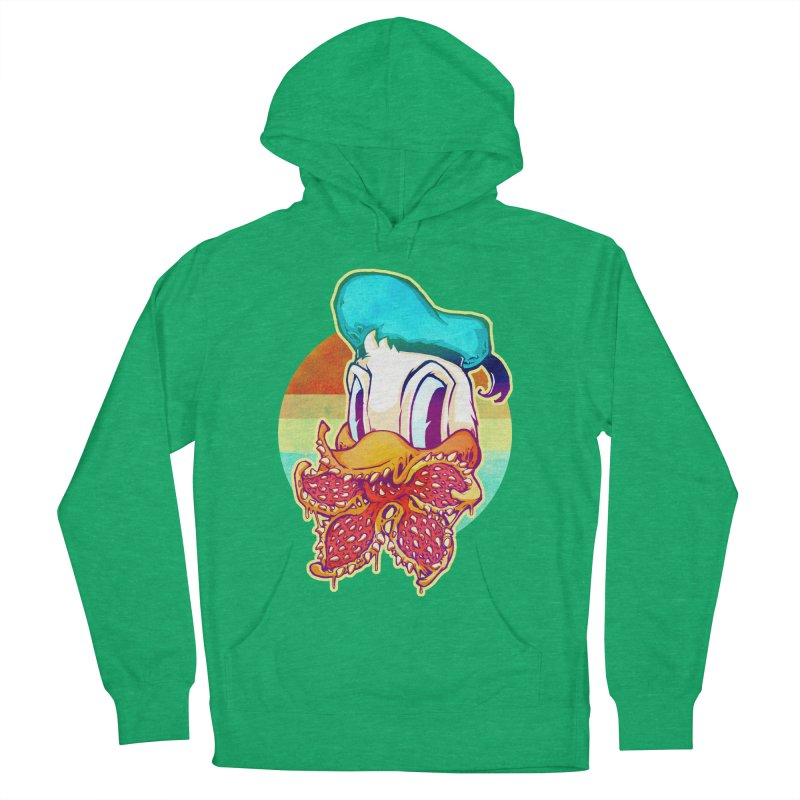 Upside down stranger Donald Women's Pullover Hoody by villainmazk's Artist Shop