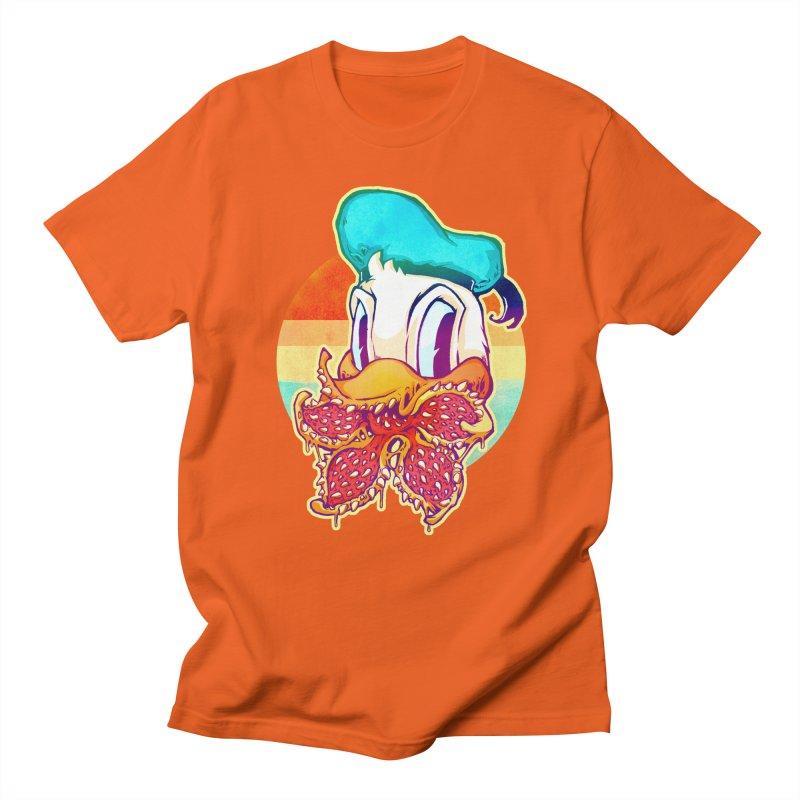 Upside down stranger Donald Men's T-Shirt by villainmazk's Artist Shop