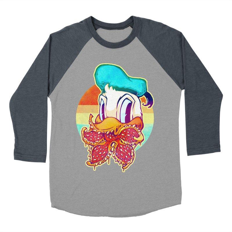 Upside down stranger Donald Women's Baseball Triblend T-Shirt by villainmazk's Artist Shop