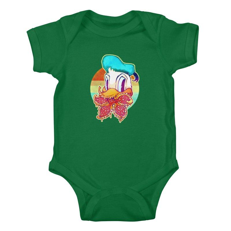 Upside down stranger Donald Kids Baby Bodysuit by villainmazk's Artist Shop