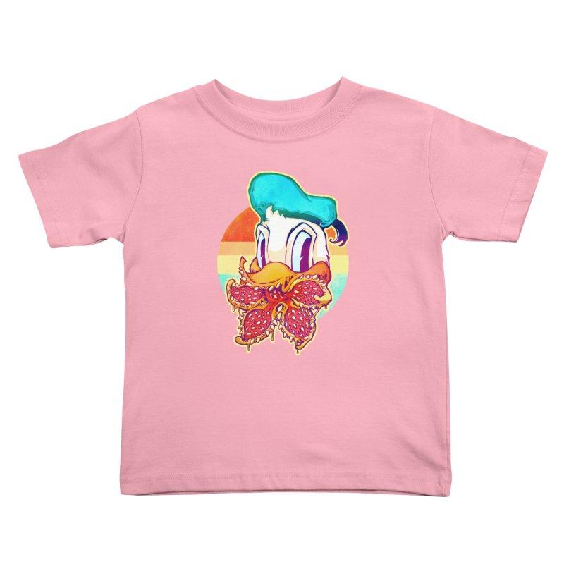 Upside down stranger Donald Kids Toddler T-Shirt by villainmazk's Artist Shop