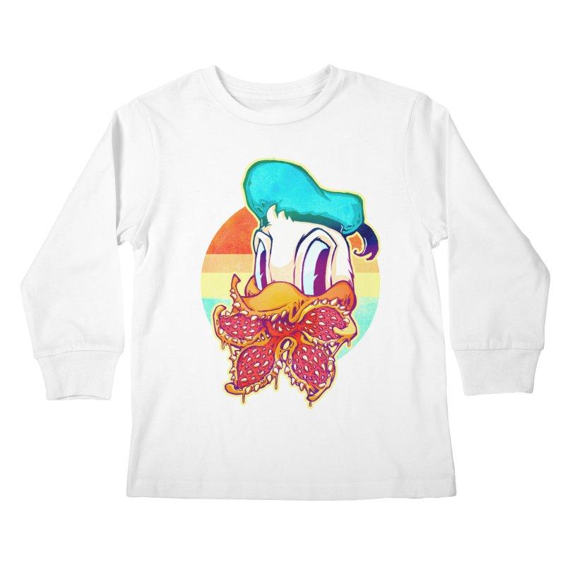 Upside down stranger Donald Kids Longsleeve T-Shirt by villainmazk's Artist Shop