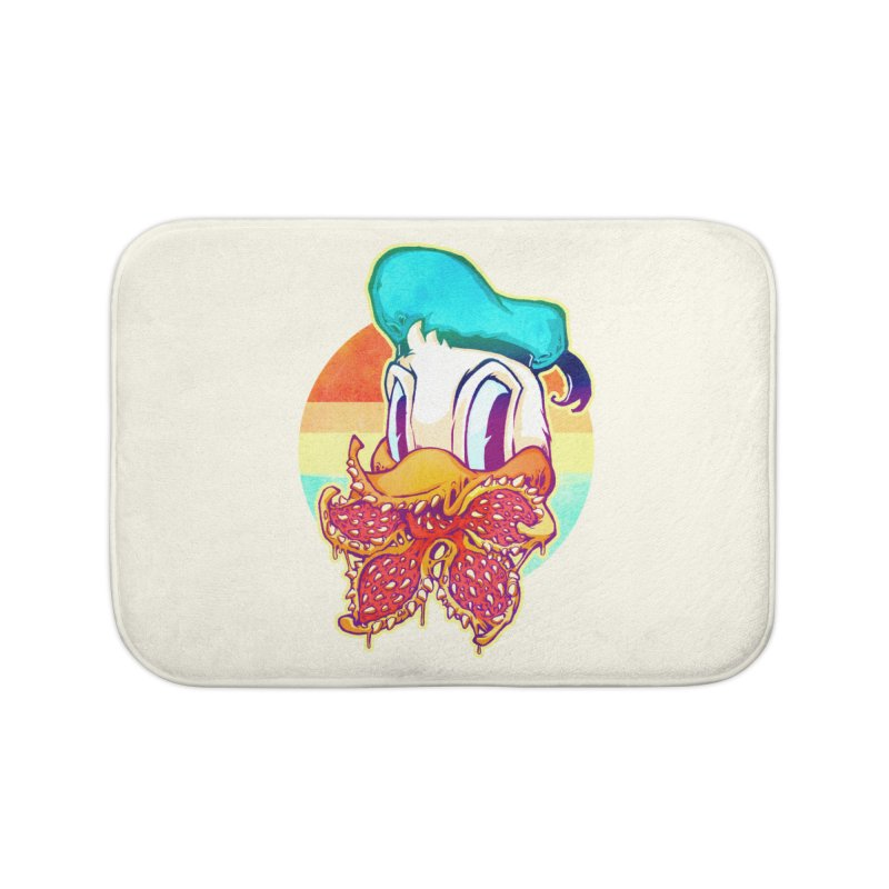 Upside down stranger Donald Home Bath Mat by villainmazk's Artist Shop