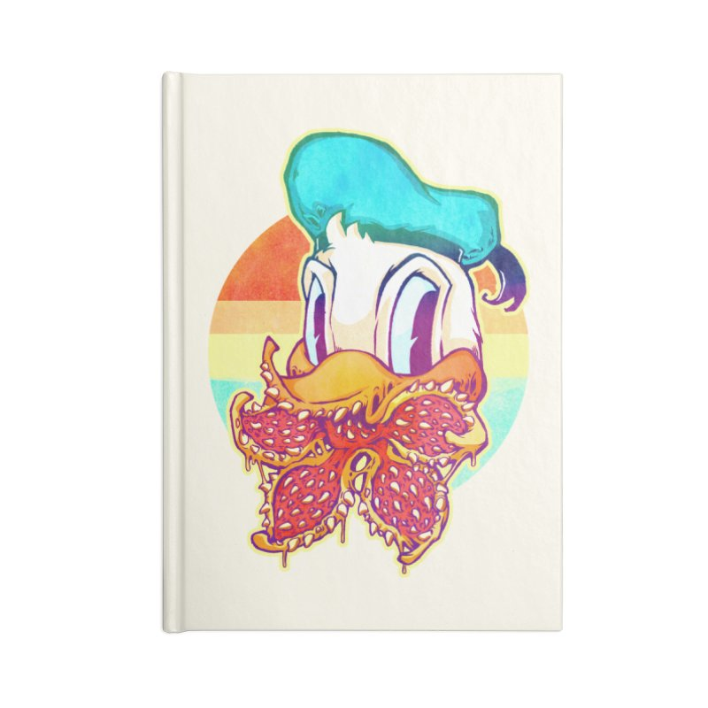 Upside down stranger Donald Accessories Notebook by villainmazk's Artist Shop