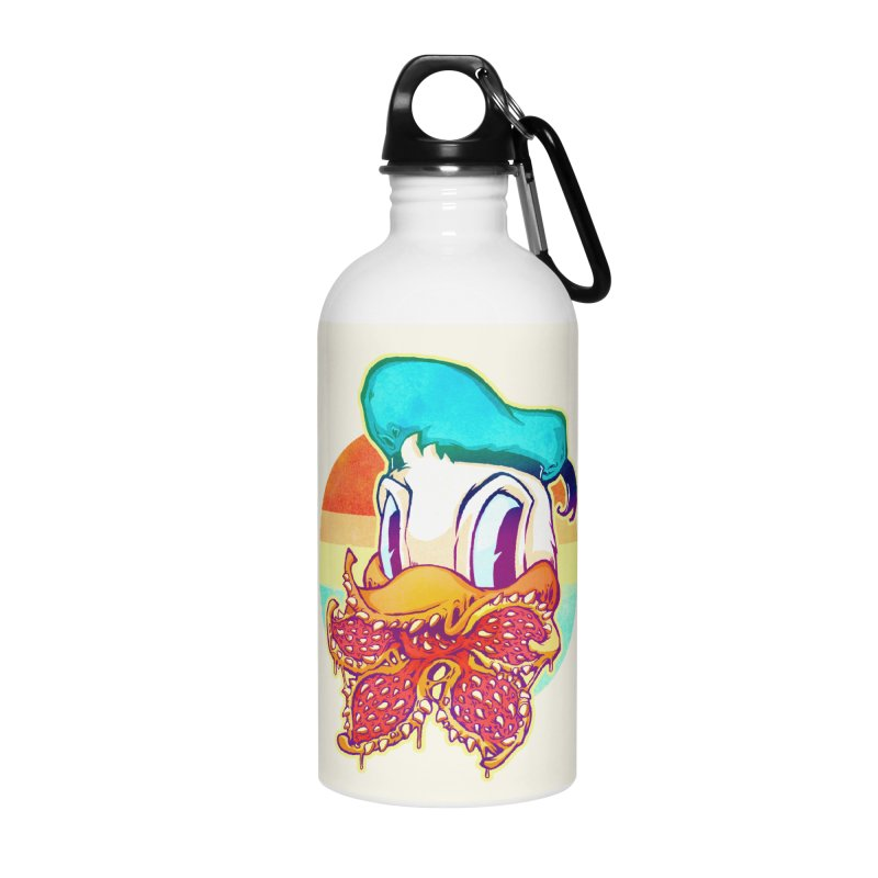 Upside down stranger Donald Accessories Water Bottle by villainmazk's Artist Shop